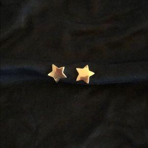 Jewelry - 14k Gold stud STAR earrings